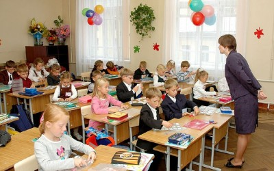 Кількість першокласників в області з кожним роком збільшується