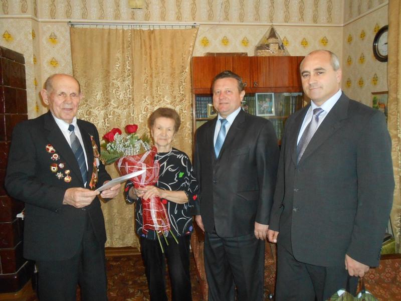 Ветеран Великої Вітчизняної війни Іван Ткачов відсвяткував своє 90-річчя