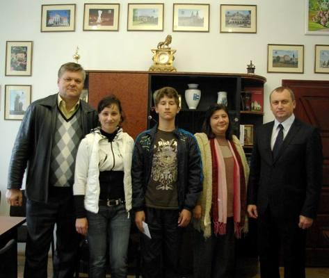 Учень однієї із шкіл Берегова став призером міжнародного конкурсу з угорської мови
