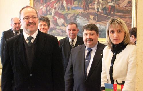 На Закарпаття з робочим візитом завітав Державний секретар Міністерства закордонних справ Угорщини Жолт Неймет