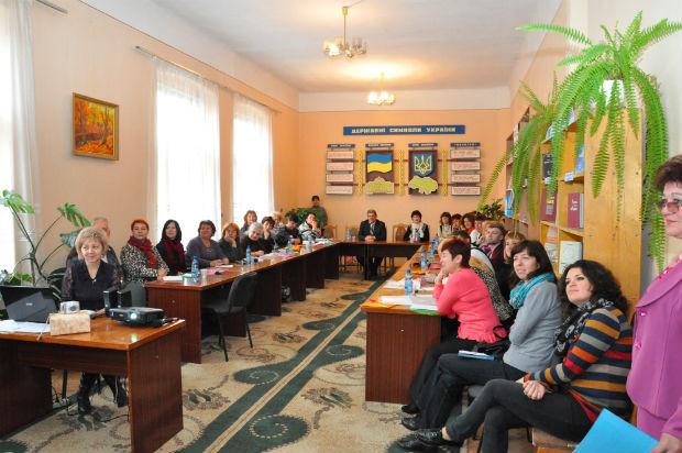 На Виноградівщині побувала делегація бібліотекарів України