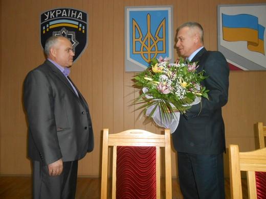 Начальника міліції громадської безпеки Мукачівського МВ УМВС з почестями відправили на відпочинок (ФОТО)