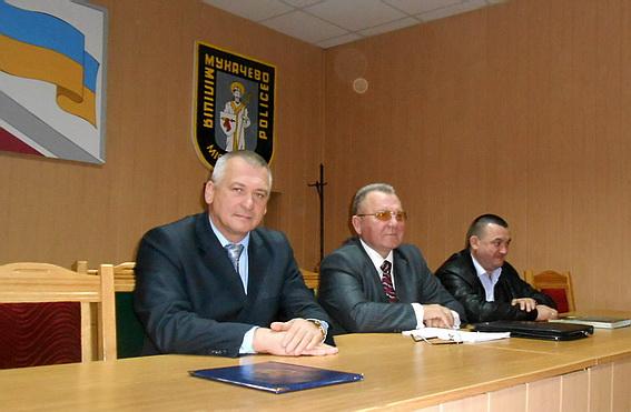 Голова Мукачівського міськрайонного суду обговорив із правоохоронцями робочі питання