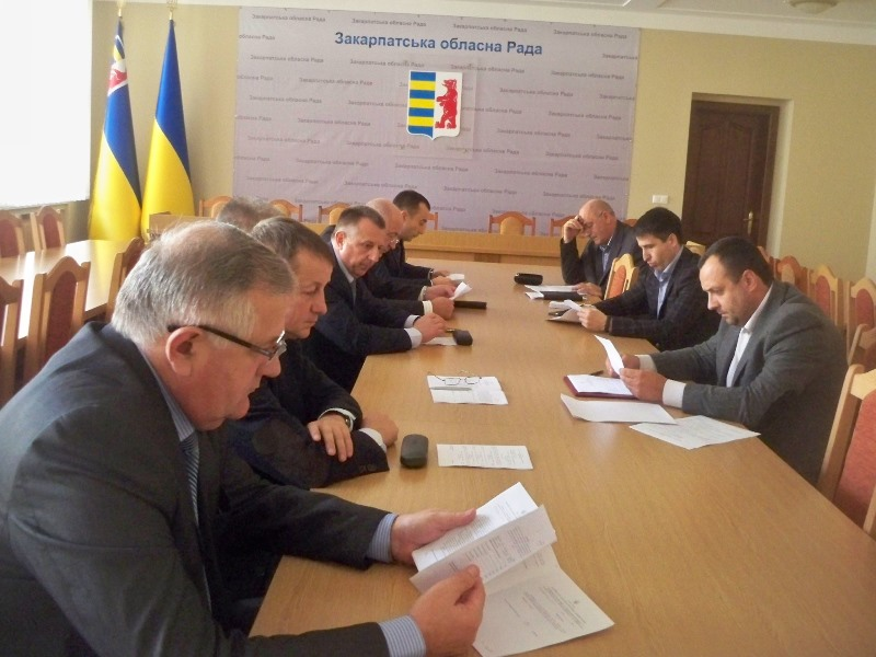 Бюджетна комісія Закарпатської обласної ради перерозподіла бюджетні кошти