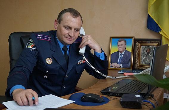 Начальник Іршавського райвідділу міліції спілкувався з громадянами району