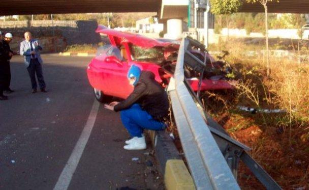П'яний Артем Мілевський розбив свою Ferrari в Туреччині (ФОТО, ВІДЕО)