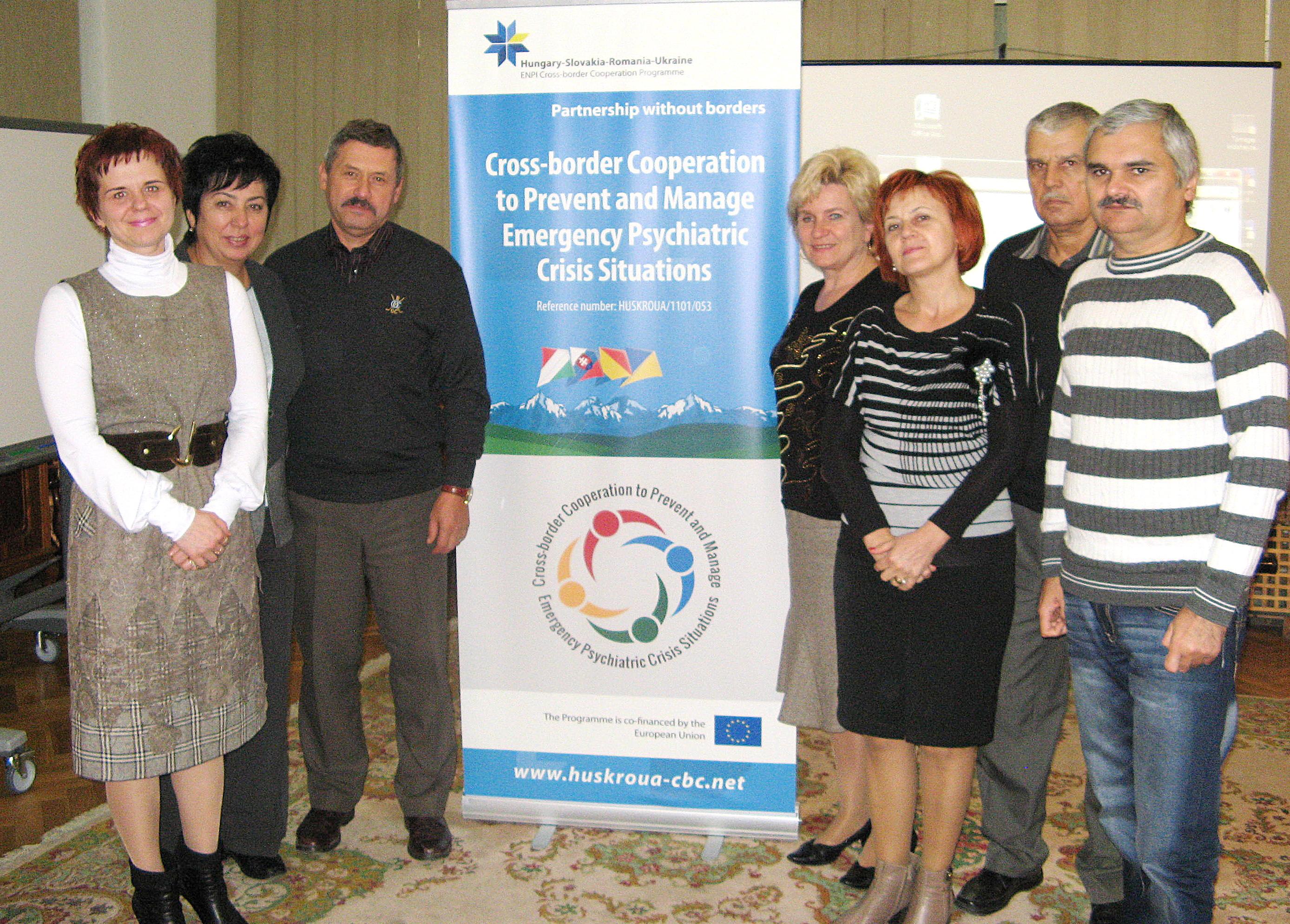 Спільно проти катастроф та стресу вирішили боротися фахівці-медики трьох прикордонних областей України