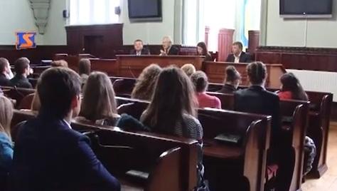 Студенти Мукачівського кооперативного торговельно-економічного коледжу зустрілись із мером міста (ВІДЕО)