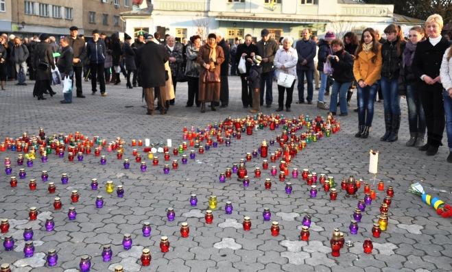 В Ужгороді вшанували пам'ять жертв Голодомору