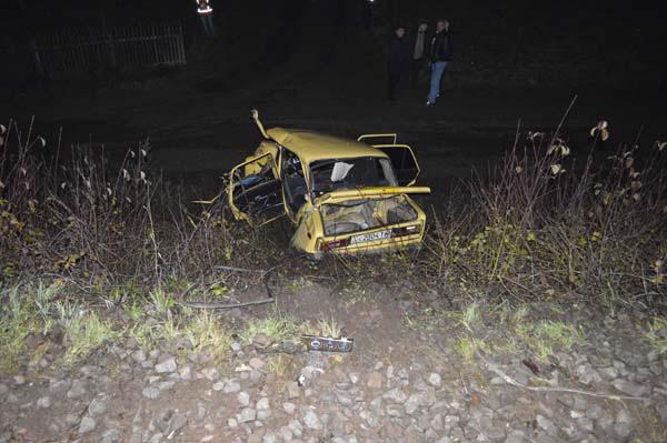З'явилися фото з місця трагічної автопригоди на Великоберезнянщині (ФОТО)
