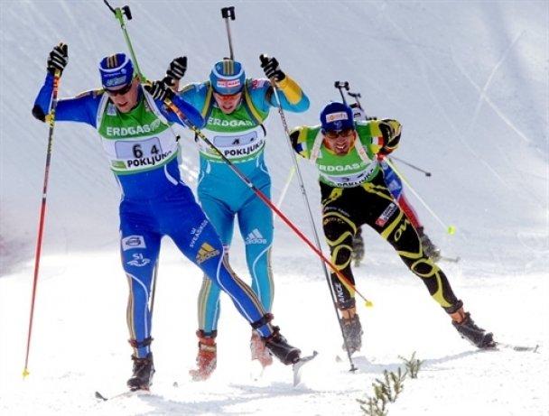 Українські біатлоністи стали бронзовими на етапі Кубка світу