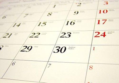 В УжНУ визнались коли відпрацьовувати новорічні робочі дні (КАЛЕНДАР)