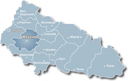 У Мукачівському районі проживає понад сто тисяч осіб