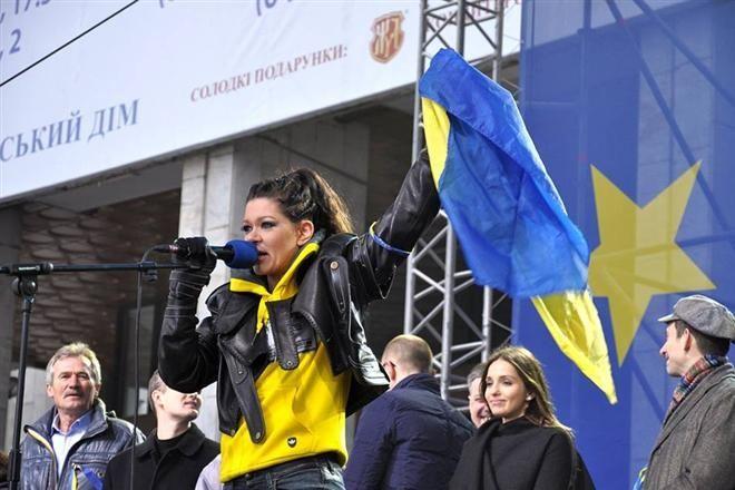 Руслана Лижичко увійшла до рейтингу найбільш успішних жінок 2013 року за версією Forbes Woman