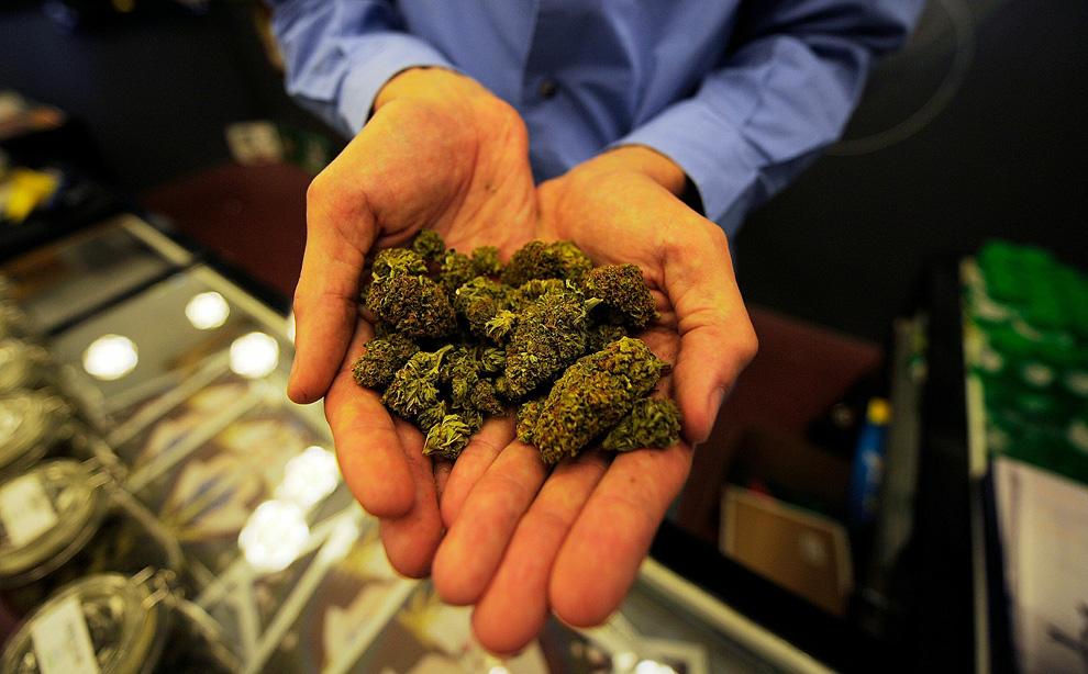 У Мукачеві на автовокзалі чоловік намагався продати перехожим марихуану