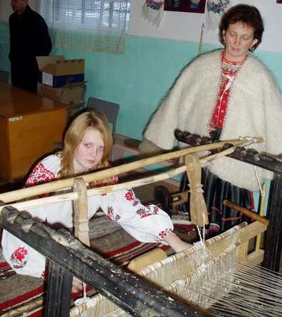У Міжгірському селі почала діяти ткацька студія та планується фестиваль гунь