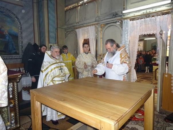 Владика Феодор освятив у селі Кайданово, що на Мукачівщині, новий престол