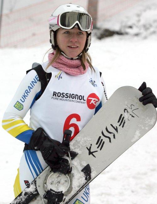 Закарпатська сноубордистка увійшла у 20-ку кращих на восьмому етапі Кубка світу