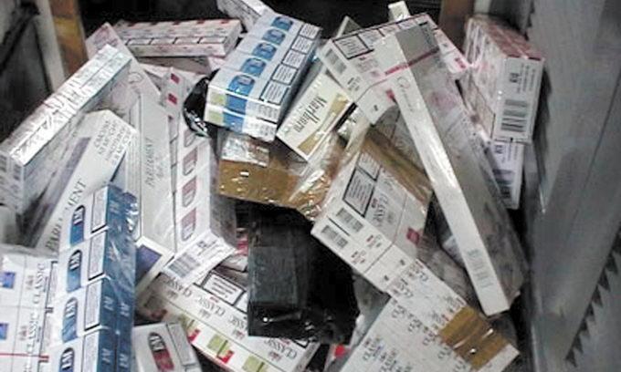 Закарпатські прикордонники поблизу кордону знайшли 9 тисяч пачок цигарок