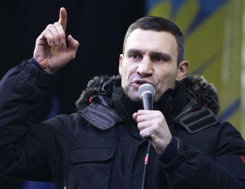 Кличко: Оголошуємо дострокові президентські вибори