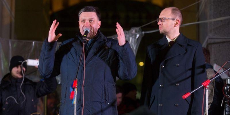 Олег Тягнибок не виключає штурму Євромайдану о першій ночі