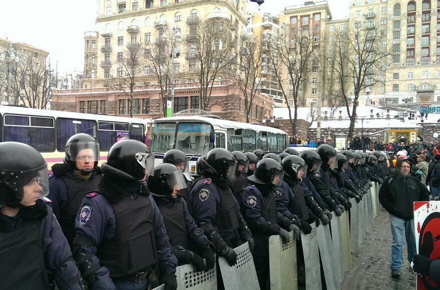 Офіцери спецназу готові перейти на бік Євромайдану в обмін на гарантії недоторканості