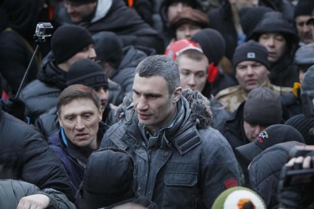 Автомайдан визначився з єдиним лідером супротиву в особі Віталія Кличка (ФОТОФАКТ)