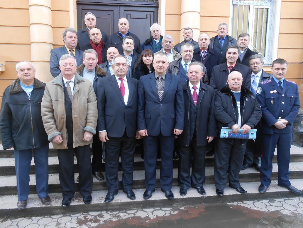 Ветерани органів внутрішніх справ краю провели виїзне засідання
