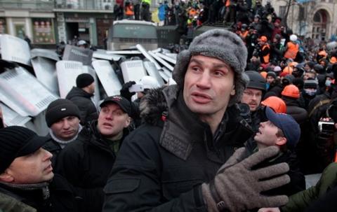 На час переговорів опозиції з президентом у Києві оголошено перемир'я