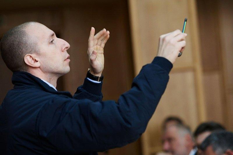 Про вихід з фракції Партії регіонів в Ужгородській міськраді заявив депутат Тарас Румянцев