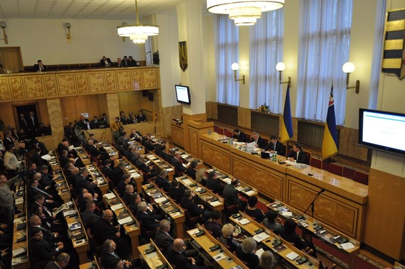 Завтра відбудеться позачергова сесія обласної ради