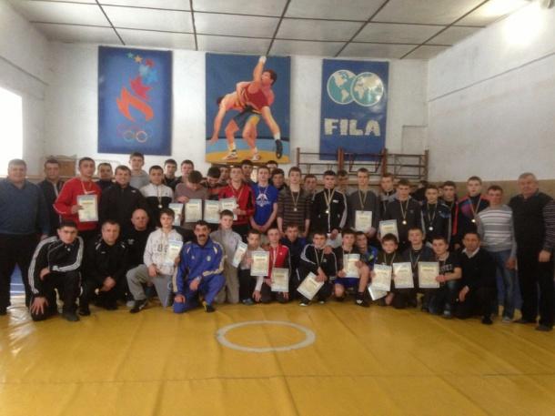 Команда Мукачівського району посіла друге місце на Чемпіонаті області з греко-римської боротьби