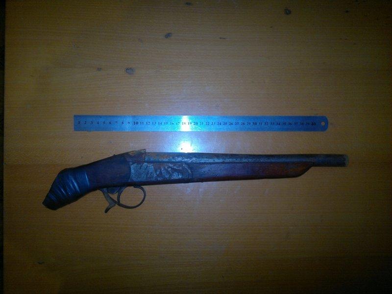 Міліція вилучила два обрізи незареєстрованої мисливської зброї