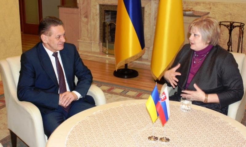 Олександр Ледида зустрівся з іноземними дипломатами