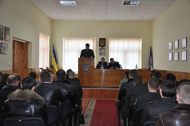 Відділ пенітенціарної служби в Закарпатській області підбив свої підсумки за минулий рік (ФОТО)