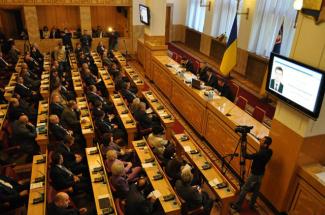 Депутати Закарпатської обласної ради зберуться вже наступного понеділка