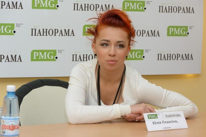 """Юлія Плаксіна розповіла про свій шлях до """"музичного олімпу"""" та відношення до Мукачева (ФОТО)"""