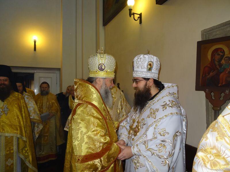 Владика Феодор побував у Празі на офіційному представленні новообраного архієпископа
