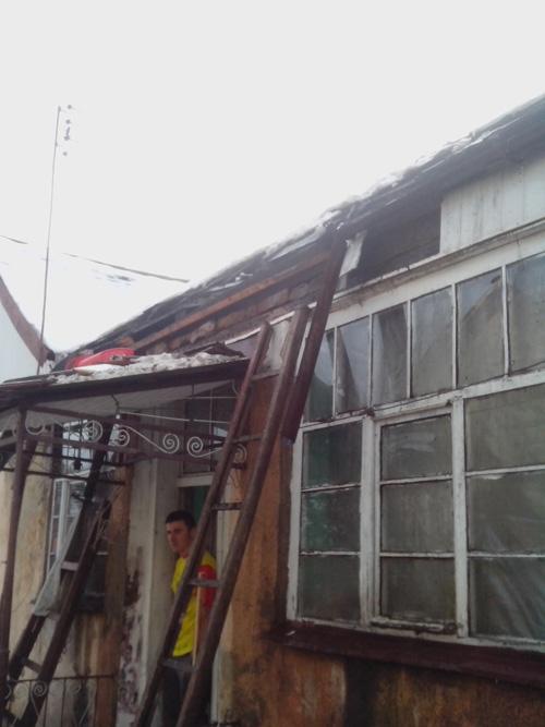 У Чопі через коротке замикання ледь не згорів житловий будинок