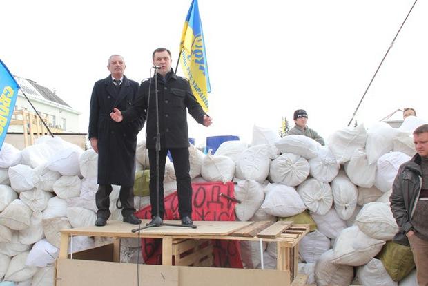 """Я ніколи не буду кричати: """"Кулю в лоб"""" – Валерій Пацкан на Народному віче в Ужгороді"""