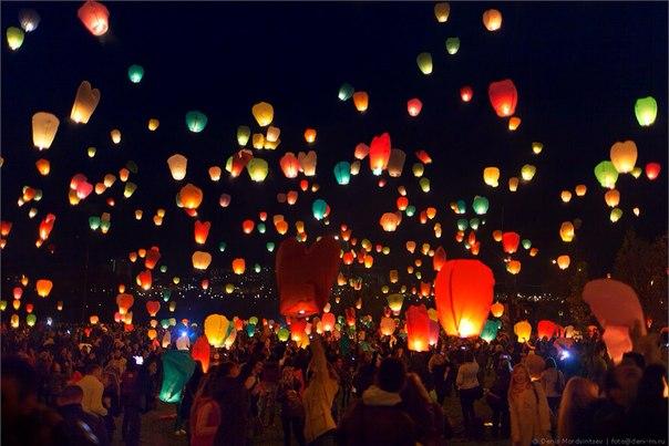 У Мукачеві в День закоханих відбудеться масовий запуск небесних ліхтариків