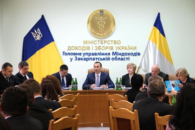 Протягом січня 2014 року у податкову Ужгорода звернулись понад 20 тисяч платників