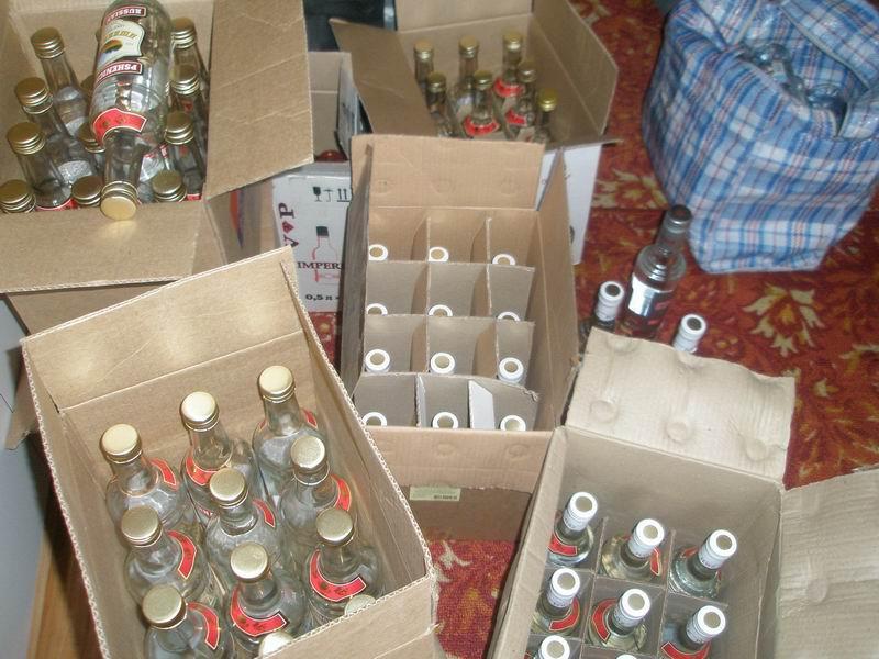 Податкова міліція Закарпаття вилучила з незаконного обігу спирту на суму майже 150 тисяч гривень