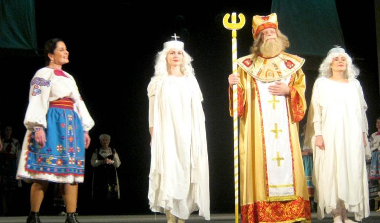 """Ужгородські актори показали """"Дорогу до раю"""""""