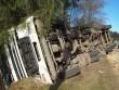 На Рахівщині перекинулась вантажівка з 20 тоннами кукурудзи (ФОТО)