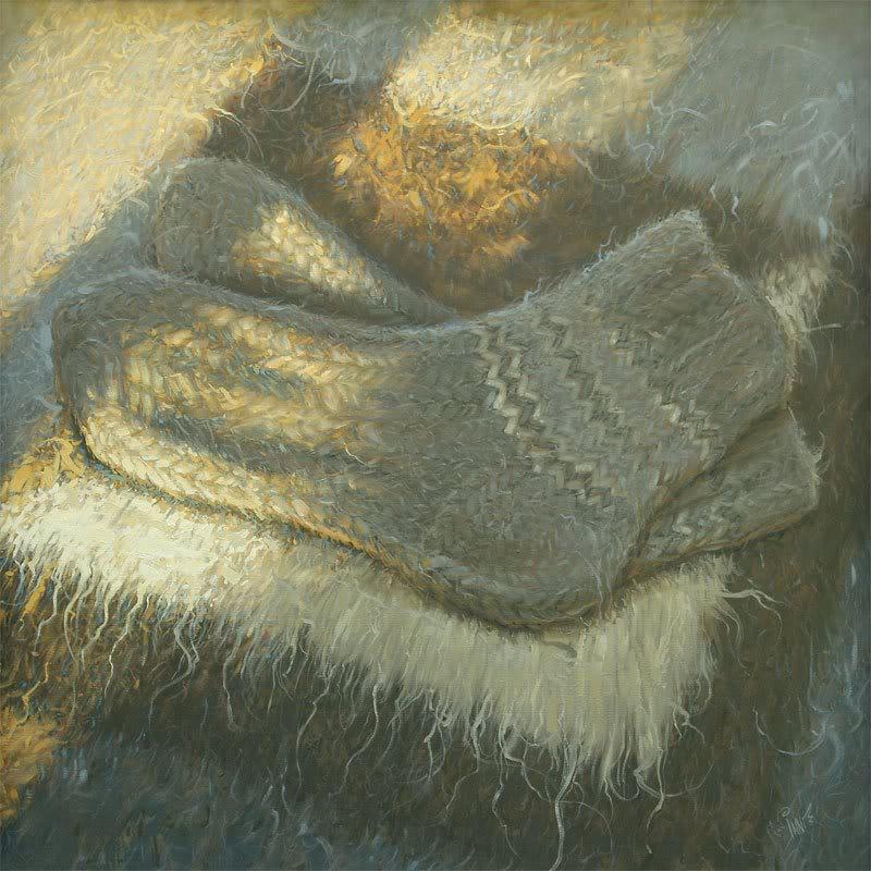 Бійці 128-ої бригади отримали від майстринь теплі гуцульські шкарпетки