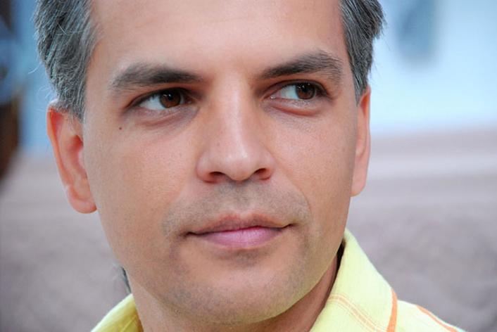 Олександр Гаврош презентує свою десятирічну працю про закарпатського силача