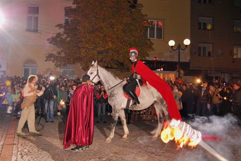 З нагоди вшанування Святого Мартина у центрі Мукачева відкриється святкова ярмарка (ПРОГРАМА)