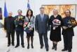 Петро Порошенко вручив мукачівцю Мирославу Дочинцю вже другу Шевченківську премію (ФОТО)