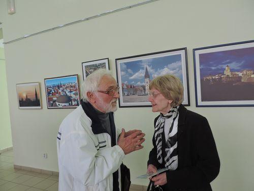 Словацький художник презентував свою творчість в Ужгороді